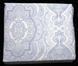 Ralph Lauren Medallion Paisley 4-Pc Blue White Full X-Deep Sheet Set Nip 1st Q - $82.99