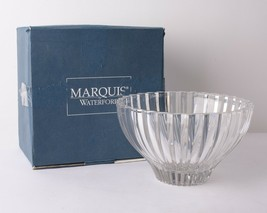 Waterford Marquis Omnia 10'' Bowl Crystal Glassware Germany 107982 Disco... - $89.09