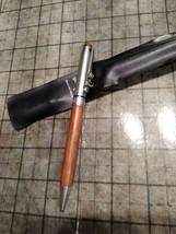 Looney Tunes 1997 Tweety Bird Wood And Chrome Pen Works Case - $8.90