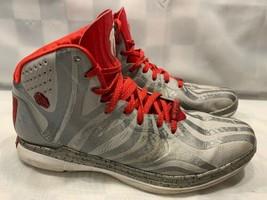 Adidas Derrick D Rose 4.5 Basketballschuhe Herren Größe 11 Silber Rot G9... - $37.30