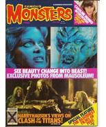 Warren Famous Monsters Of Filmland #182 Harryhausen Clash Of The Titans ... - $19.95
