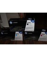 lot  Genuine HP LaserJet 124A Print Cartridge Q6003A Q6000A Q60001A new - $125.00