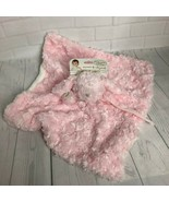 Blankets and Beyond Pink & Gray Puppy Dog Lovey Security Blanket Nunu Pa... - $37.39