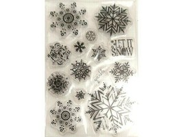 Snowflakes Clear Stamp Set