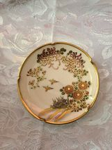 Vintage Soho china Satsuma Hand Painted Ashtray image 5
