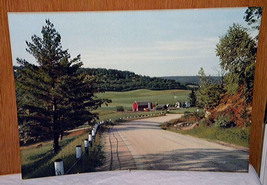 Picture of a farm and the surrounding fields, mountains Situated in smal... - $25.00
