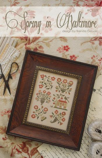 Spring In Baltimore cross stitch chart  With Thy Needle