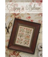 Spring In Baltimore cross stitch chart  With Thy Needle  - $12.00