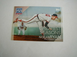 2019 TOPPS NOLAN RYAN GREATEST SEASONS 150TH CARD #150-134 CALIFORNIA AN... - $1.97
