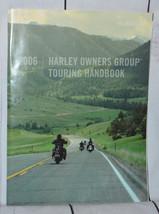 2006 Harley Davidson The Americas Touring Handbook USA Canada Latin Carte - $9.83