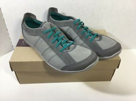 Clarks Slip-on Sneakers - Charron Twine Gray  8.5m New In Box - $28.04