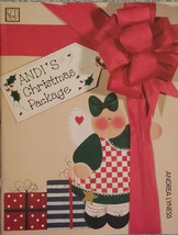 Andi's Christmas Package By Andrea Lyness Holiday Tole Painting Book RARE NEW. - $7.98