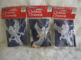 JOYBRITE VTG 3 Beautiful FLYING Angel Ornaments MIP - $13.86