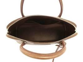 HERMES Bolide 35 Vibrate Brown Handbag Shoulder Bag #D Authentic 5473007 image 9