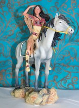 Sisters in Spirit Collection Indian Maiden on Horse - Visions Shared - $19.75