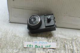2006-2012 Chevrolet Impala Headlight Control Switch Trunk Release Unit 2 06 6B4 - $19.79
