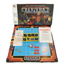 Vintage 1983 Berzerk Milton Bradley Board Game Based on Stern's Arcade Game - $49.45