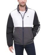 Tommy Hilfiger  Men's Nylon Taslan Retro Puffer Jacket Black Charcoal - $112.50
