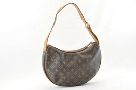 LOUIS VUITTON Monogram Croissant GM Shoulder Bag M51511 LV Auth 4550 - $390.00