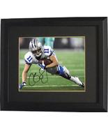 Cole Beasley signed Dallas Cowboys 8X10 Photo Custom Framed (horizontal)... - $89.95