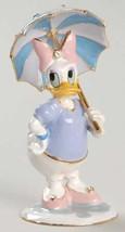 Disney Daisy Duck with Umbrella jeweled keepsake treasure box HB Figurine - $99.99