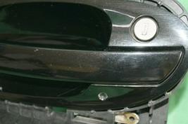 02-04 BMW E65 Exterior Outside Door Handle Front Left Driver - LH [BLACKSAPHIR] image 2