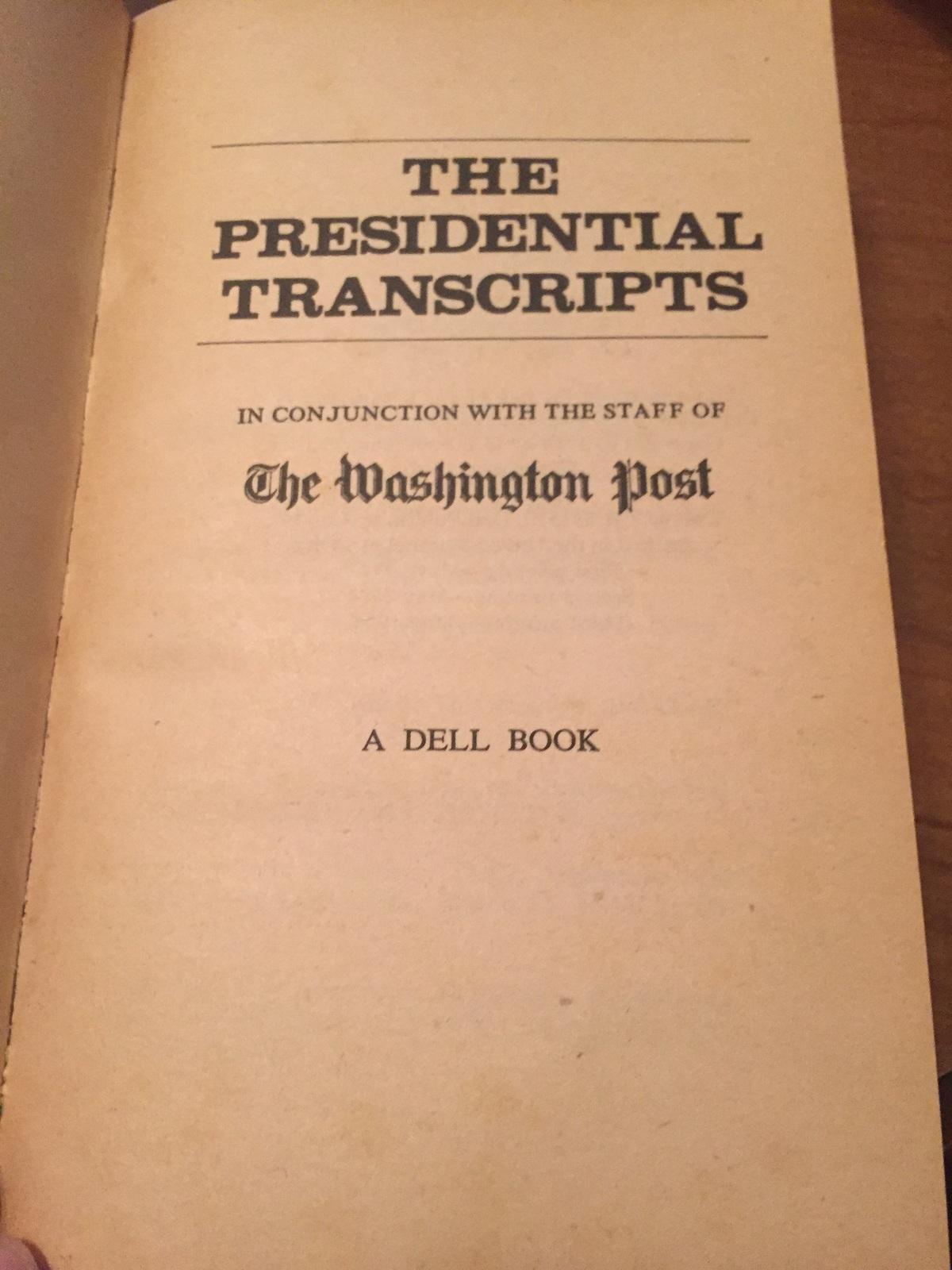 The Presidential Transcripts jvc144