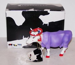 FABULOUS 2005 WESTLAND COW PARADE #7713 MOODAME MOOTILDE FIGURINE IN BOX - $38.60