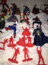 Mixed Super Hero Action Figure Lot Of 36 Marvel Ninjas Turtles Power Ranger WWE image 4