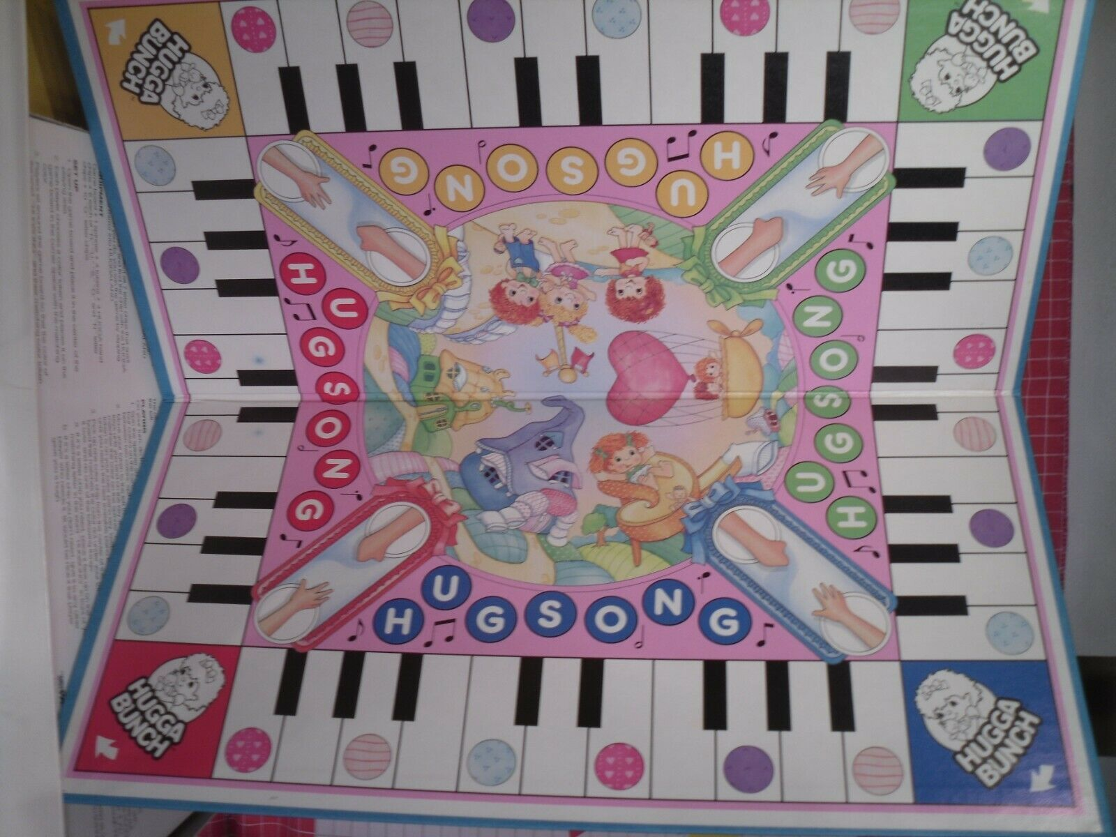 Hugga Bunch Board Game by Parker Brothers 1980s image 7