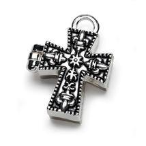 Bulk Buy: Darice DIY Crafts Charm Prayer Box Cross Antiqued Silver (3-Pa... - $11.69