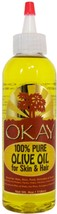 Okay 100% Pure Olive Oil for Skin & Hair Treatment 4oz - $10.84