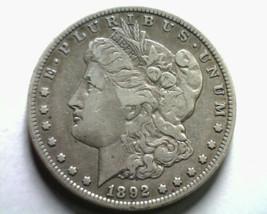 1892-S MORGAN SILVER DOLLAR VERY FINE / EXTRA FINE VF/XF NICE ORIGINAL V... - $215.00