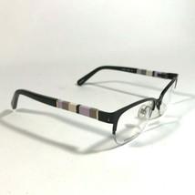 Kate Spade Black Purple Striped Cats Eye Eyeglasses Frames VALARY 0W93 NWT - $46.75
