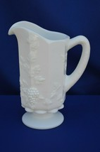 Westmoreland 1881 Paneled Grape Milk Glass  Pitcher/Jug 1 Qt - $11.88