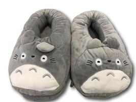 "USB Totoro Ghibli Cosplay Adult Plush Rave Shoes Slippers 10""  - £7.77 GBP"