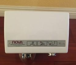 New NOVA 0110 Push Button Hand Dryer American Hotel Register Canada Made image 2