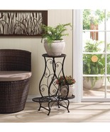 HOURGLASS TRIPLE PLANT STAND Flower Pot Holder Fully Assembled - $48.80