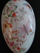 Vintage Avon 1974 Fine Porcelain Egg With 22K Gold Trim Made in Japan image 1