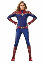 Rubies Captain Marvel Movie Superhero Suit Adult Womens Halloween Costum... - $52.33