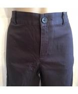 Banana Republic Harrison Brown cotton blend casual cropped capri pants 4 - $18.95