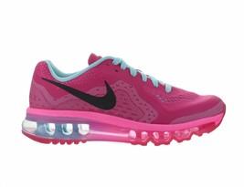 abb03c5aad Kids Nike Air Max 2014 GS Vivid Pink Black Pink Glow Metallic Silver 631.
