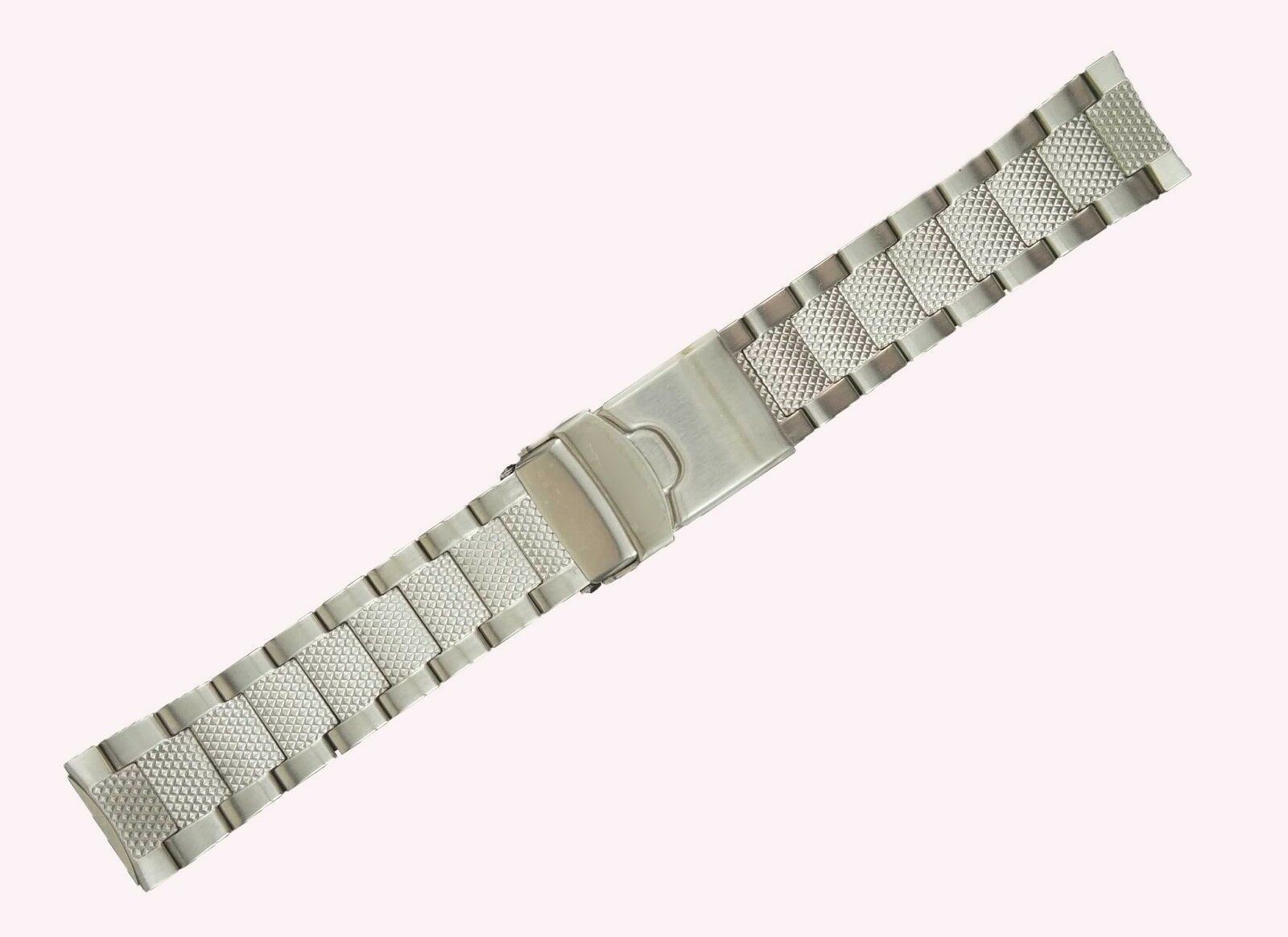 22mm Silver Steel Watch strap Bracelet For Seiko 5 Divers 200m SKZ251 520SKO