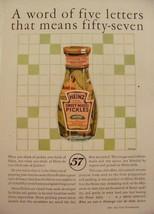 1925 HEINZ SWEET MIXED PICKLES IN JAR PRINT AD KITCHEN ART - $9.99