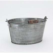Medium Oval Bucket - $39.95