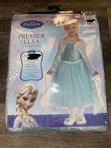 Frozen Elsa ~ Halloween Girl's Youth Costume Premier Disney Dress ~ L - $21.49