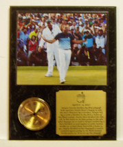 Sergio Garcia Masters 8x10 Celebrating Win Photo Clock Plaque w engraved... - $39.99