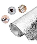 3M/5M/10M Aluminum Foil  kitchen wallpaper waterproof self adhesive wall... - $67.52+