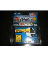 Brother P-Touch TZ-631  Labeling System 1 Tapes Black NEW IN BOX (RELAY-... - $9.90