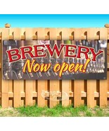 BREWERY NOW OPEN! Advertising Vinyl Banner Flag Sign Many Sizes - $14.24+